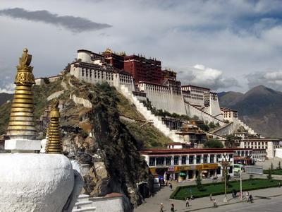 Тибет, Лхаса, Дворец Потала