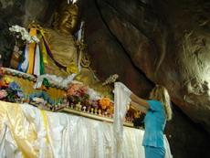 В  Пещере Гуру Падмасамбхавы