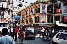 Тхамел,  туристический центр Катманду