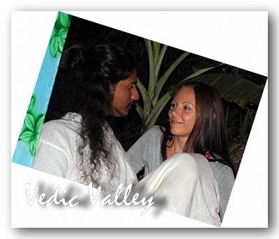 Ананд и Акаша в Гоа